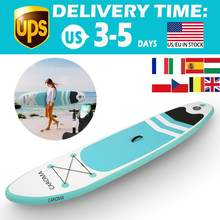 120x28x4inches Portable Surfboard Inflatable Stand Up Adult Anti-leak Valve Paddle Board Portable and Easy to Store