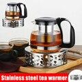 Нержавеющая сталь Теплее Нагреватель свеча база прочный для термостойкие чайные горшки PI669
