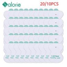 20 pièces/lot pour les dizaines Massage électrodos électrodes électrodes dizaines dispositif de soins de santé EMS Machine de thérapie numérique masseur