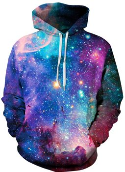 Men's Pullover Hoodie Galaxy Animal 3D Print Hooded Sweatshirts Unisex (2X-Large - 3X-Large, Colorful Galaxy 30) 3d galaxy tree print pullover hoodie