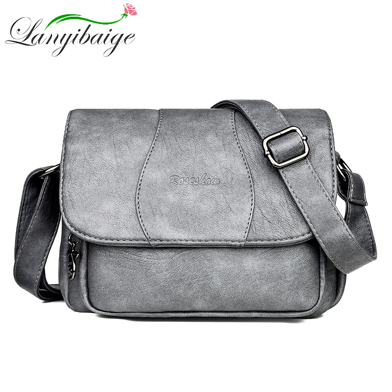 New women over shoulder bags crossbody for Gray luxury handbags designer 2019 bolso mujer