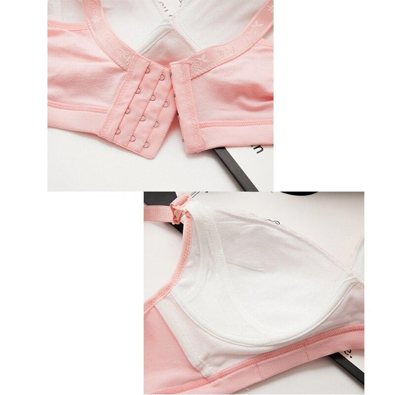 Cotton Breastfeeding Bra | Pregnancy Breast Sleep Underwear 3