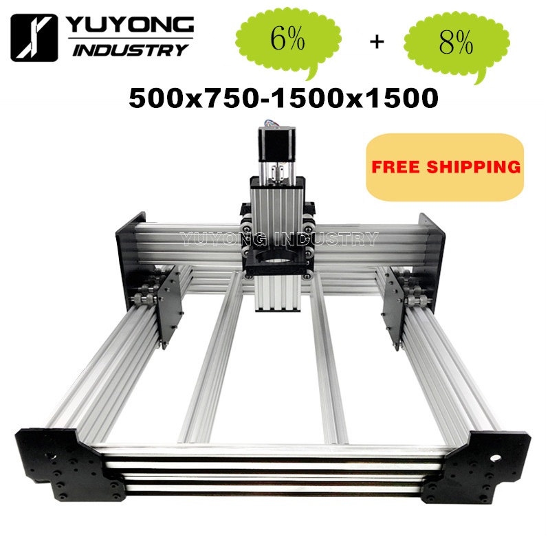WorkBee CNC Router Machine kit WorkBee CNC Mechanical kit-in 3D Printer Parts & Accessories from Computer & Office