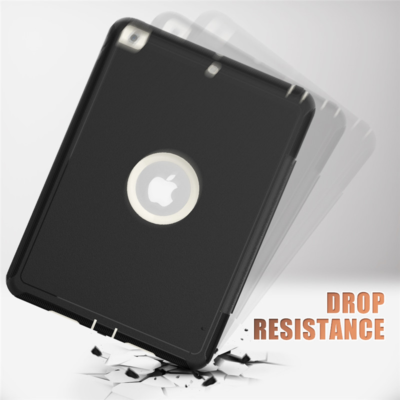 PU Apple Hard-Cover 7-7th-Generation for Kids iPad Safe Full-Protection-Case Shockproof
