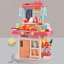 Новинка 888-17# Beibigu, распылитель воды, кухонный игровой домик, модель для приготовления пищи, детская игрушка для девочек и мальчиков
