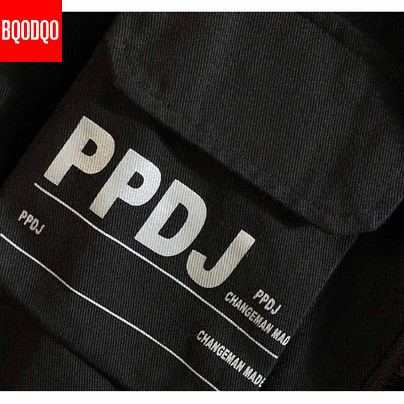 Japanse Leger Bomberjack Mannen Turn-down Kraag Hip hop Jassen Herfst mannen Militaire Print Streetwear Groen Casual cargo Coat