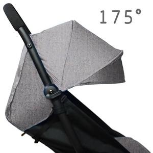 Image 1 - 175องศารถเข็นเด็กทารกPad + Sun ShadeสำหรับBabyzen Yoyo YoyaทารกPramอุปกรณ์เสริมSunshade Canopyเบาะที่นั่งliner