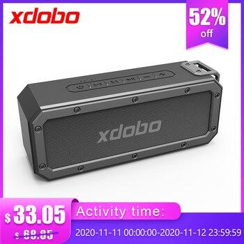 XDOBO X3 40W portable wireless speaker bluetooth Soundbar Subwoofer with Deep Bass TWS Type-C IPX7 Waterproof 15 hours BT4.2
