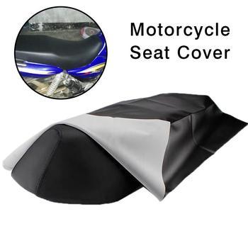 Wodoodporna skórzana osłona na siedzenie motocykla odporna na zużycie pokrywa dla motocykla skuter pojazd elektryczny 39 37 X 27 56In tanie i dobre opinie Przeciwko Zużycie Black Leather Motorcycle scooter electric vehicle Motorcycle Seat Cover Support 100x70cm