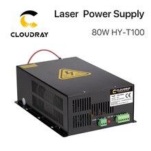 Cloudray 80 Вт-100 Вт CO2 лазерный источник питания для CO2 лазерной гравировки и резки HY-T100 T/W Plus серия длинная гарантия