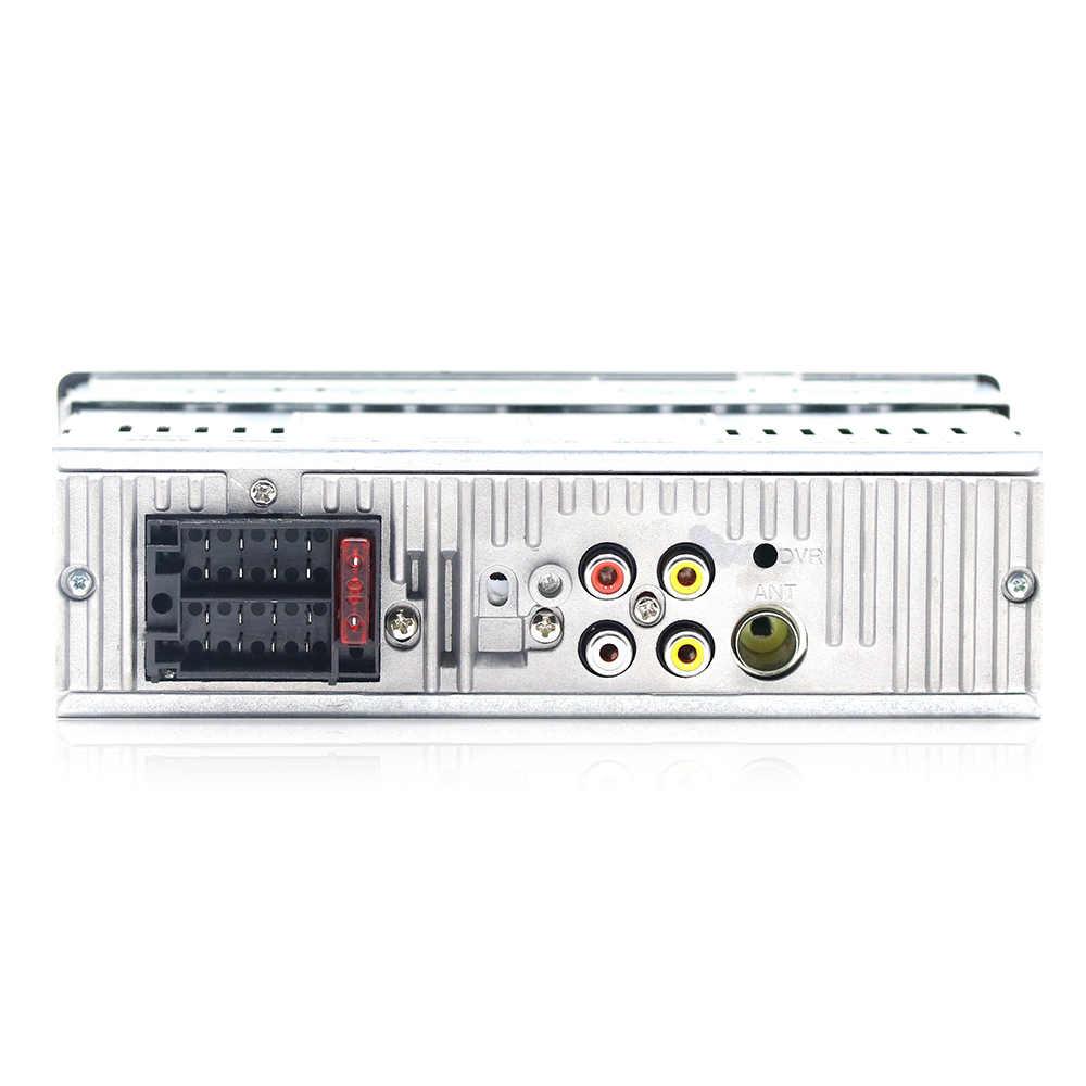 4 インチ車ラジオ自動オーディオリモコンステレオ MP3 プレーヤーの Aux USB ポートと SD カードスロット、 Fm bluetooth 1din