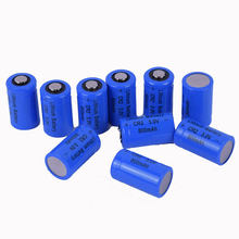 New High quality 3V 800mAh CR2 lithium battery for GPS security system camera medical equipment