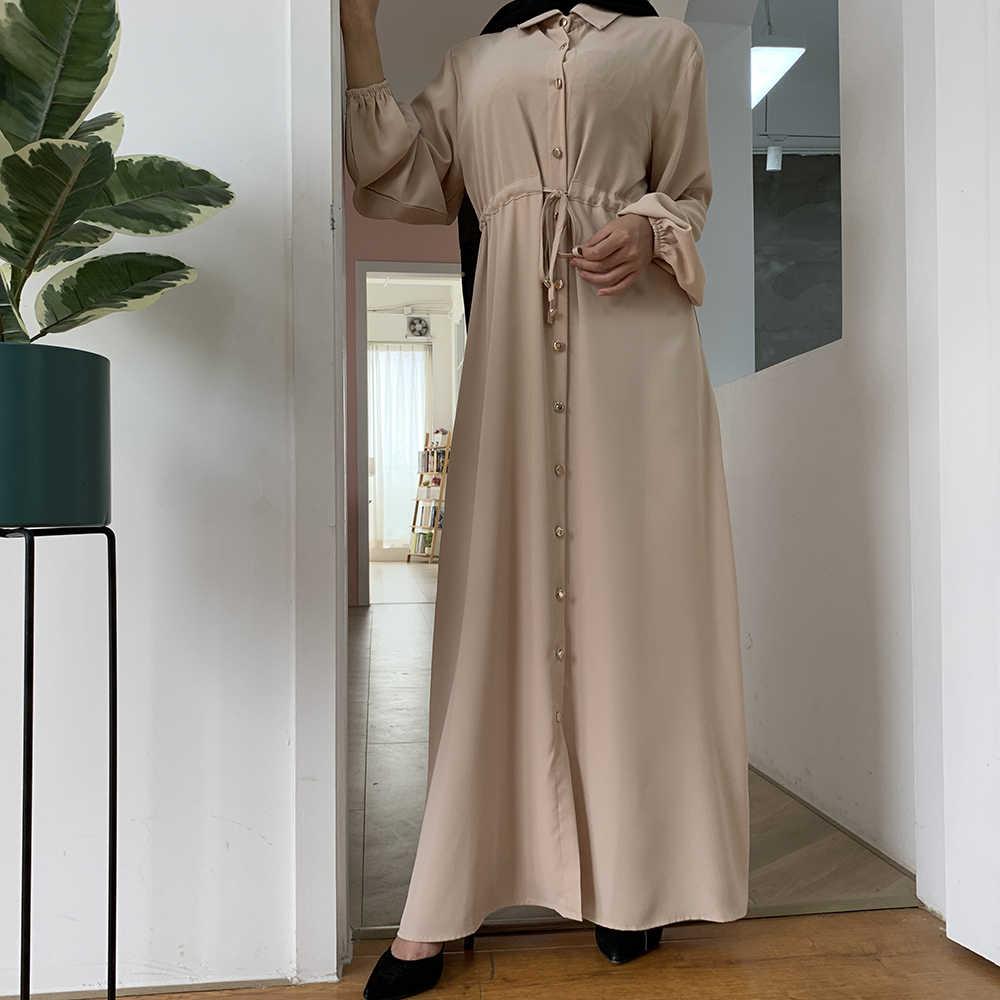 Aid Mubarekแฟชั่นมุสลิมดูไบAbayaตุรกีHijabฤดูร้อนKaftan Caftanอิสลามเสื้อผ้าRobe Femme Ete Vestidos