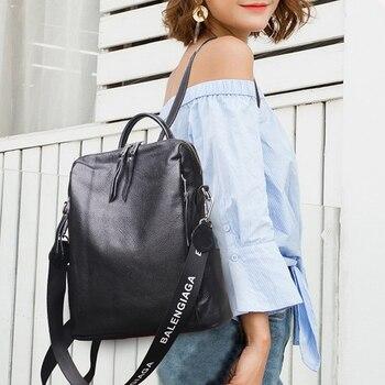 Women Backpack New Fashion Leather Casual Bag Anti-theft Rucksack Teen Girl Shoulder Bag