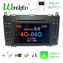 DSP IPS Android 9.0 64G 2 din GPS pour Mercedes Benz Sprinter B200 W209 W169 W169 classe B W245 B170 Vito W639 A180 A160 W906 PC(China)