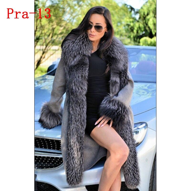 Dernier femmes renard veste 14