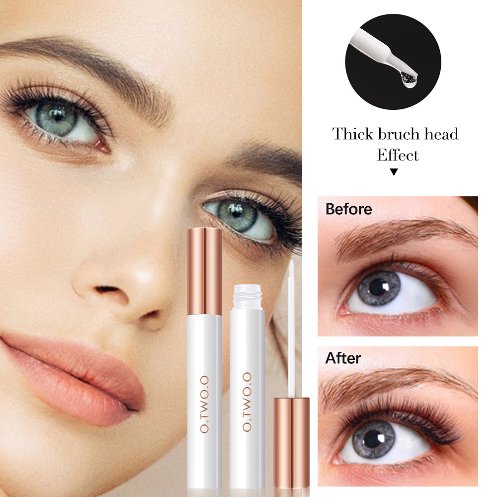 Eyelash Growth Treatment Enhancer Natural Moisturizing Eyelash Nourishing Essence Serum For Eyelashes Lengthening Thicker