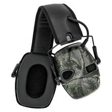 Electronic Shooting Earmuff Anti-noise Sound Amplification Tactical hunting Ear protection Tactical headphone Electronic Earmuff
