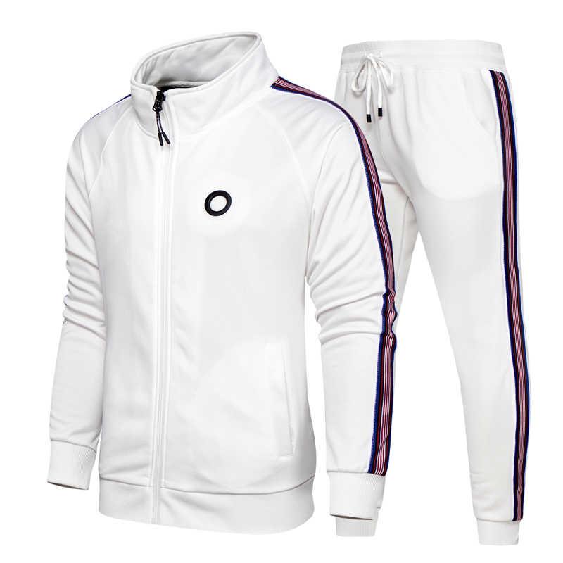 Осенние комплекты для бега, мужская куртка с длинным рукавом, спортивные штаны, спортивная одежда, толстовки для фитнеса, толстовка, штаны, спортивный костюм для спортзала, мужской спортивный костюм