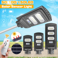 30/60/90W 150LED Wand Lampe IP65 Solar Straße Licht Radar motion 2 In 1 Ständig helle & induktion Solar Sensor Fernbedienung-in Straßenbeleuchtung aus Licht & Beleuchtung bei