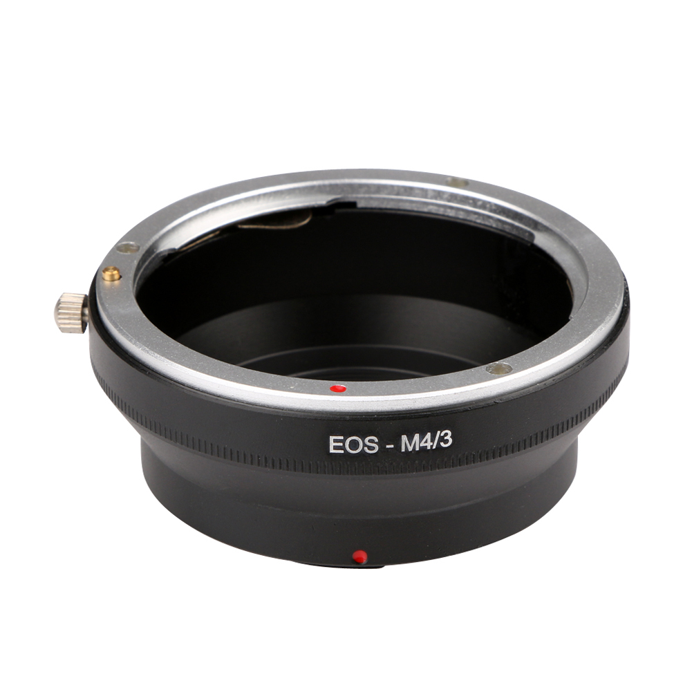 EOS-M4/<font><b>3</b></font> for <font><b>Canon</b></font> EOS EF Mount Lens To Olympus <font><b>Micro</b></font> <font><b>4</b></font>/<font><b>3</b></font> <font><b>Adapter</b></font> Ring Olympus M43 E-P1/E-P2/E-PL1 and Panasonnic G1/G2/GF1/GH1 image