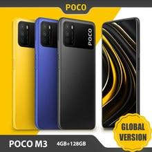 Version mondiale POCO M3 Smartphone 4GB 128GB téléphone portable Snapdragon 662 Octa Core 6.53