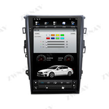 PX6 Tesla Style Big Screen Android 9 Car Multimedia Player For Ford Fusion Mondeo MK5 2013+ GPS Audio Radio stereo BT head unit(China)