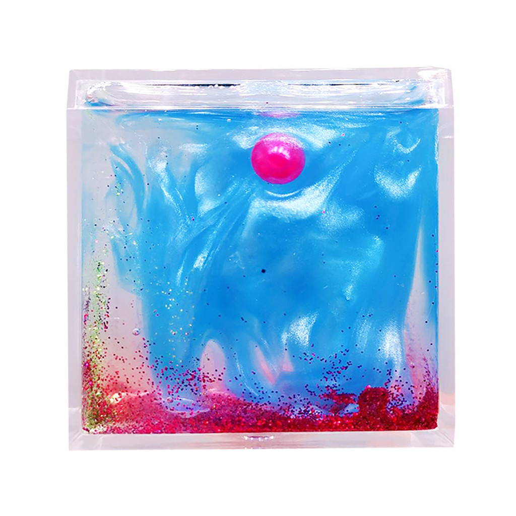Crystal Dream Color Pearlescent Slime Scented Stress Kids Clay Toys Beautiful Color Slime Gift Crystal Mud Play #B