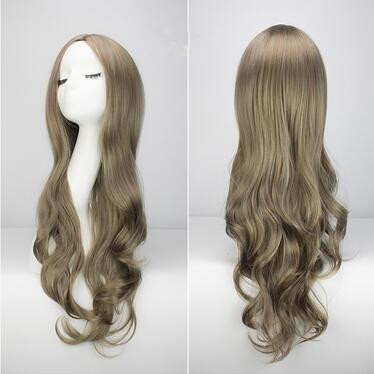 (DM-WIG02) Resin Japan Anime Kigurumi Cosplay Mask Lolita Crossdressing BJD Masks' WIG 70cm Middle Minute Curls