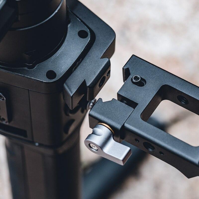 In Stock PGYTECH Ronin S SC Handgrip Mount PLUS for DJI Ronin sc Handheld Gimbal Aluminum Alloy DSLR 5