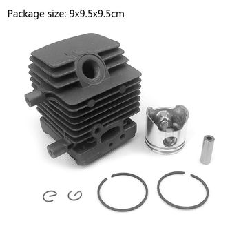Cylinder Piston Kit for Stihl FS55 FS45 BR45 HL45 Trimmer 4140 020 1202 Gasoline Chain Saw Accessories 38mm cylinder assembly for st fs200 ts200 020 strimmer chop saw zylinder w piston ring pin clips assembly 4134 020 1212 page 3