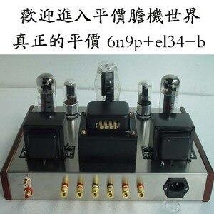 Image 1 - 2019 Nobsound مصنعين بيع عرض خاص 5Z3P + 6N9P + EL34 B شنت أنبوب مضخم الصوت نهاية واحدة مقبض الطاقة 13 واط + 13 واط