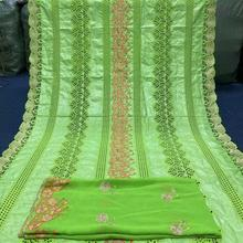Lace Fabrics Nigeria-Dress African-Basin Richer-Gezner Embroidery Sewing Soft-Bazin French