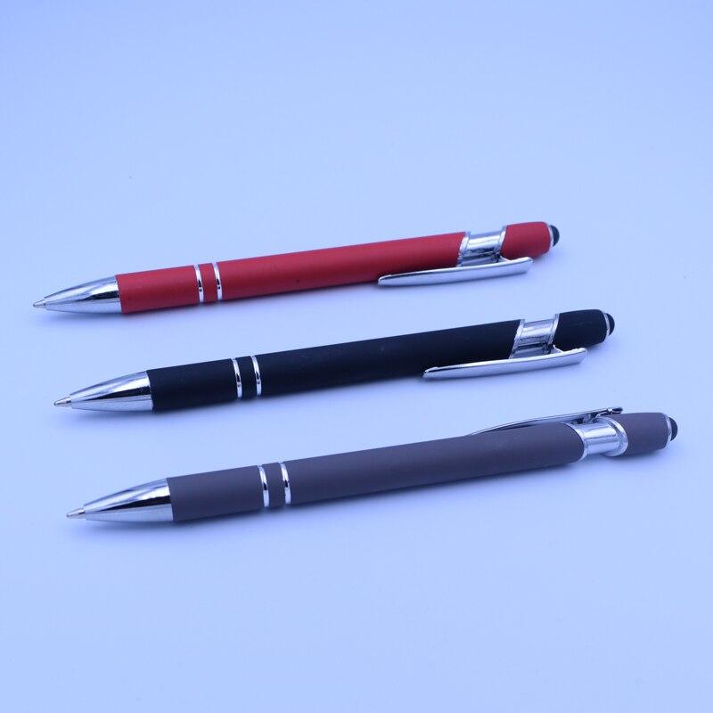 Press Ballpoint Pen Ballpen 0 7 mm Black Ink Office School Supplies Writing Materials in Ballpoint Pens from Office School Supplies