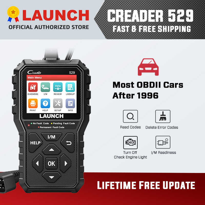 STARTEN CR529 obd2 scanner auto code reader auto diagnose scanner tool check engine licht pass emission test CR319 CR3001