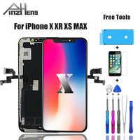 Pinzheng tela lcd original para iphone x xr xs max lcd dispaly oled tft oem qualidade digitador assembléia repalcement tela lcds