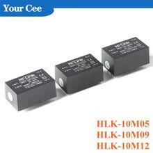 AC-DC Мощность модуль мини изоляция рубильник преобразователь переменного тока в постоянный, 10W Питание модуль 220 В до 12 В/9 В/5v HLK-10M05 HLK-10M09 HLK-10M12
