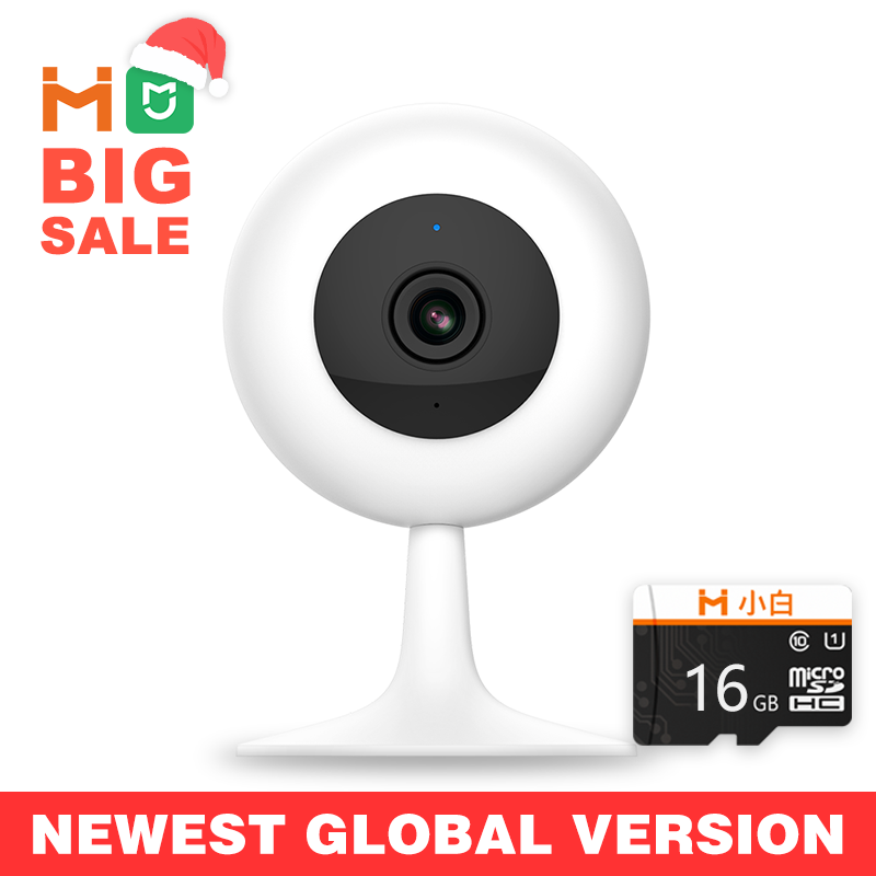 【Global Version】Mijia IMILAB IP Camera Xiaomi Mi Home App Wifi Wireless CCTV Camera Infrared Night Vision Baby Monitor