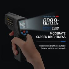 -50~380℃ Digital Laser Infrared IR Thermometer Non-contact Temperature Gun C/F