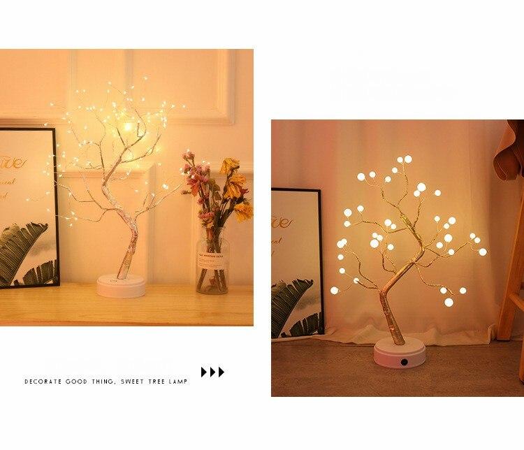 Luminária Abajur Árvore de Luz - BeautyTree