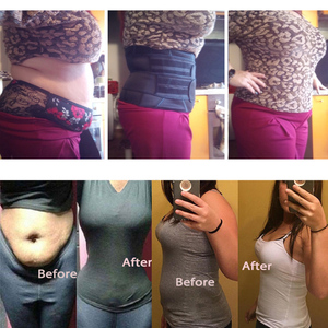 Image 2 - Waist Trainer Women Slimming Sheath Tummy Reducing Shapewear Belly Shapers Sweat Body Shaper Sauna Corset Workout Trimmer Belts