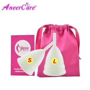 Image 5 - Copa Menstrual de higiene femenina y tazas vaginales de silicona de grado médico, esterilizador para mujeres, período Menstrual
