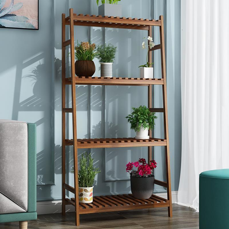Estanteria Pot Table Repisa Para Plantas Indoor Ladder Balkon Stand Stojak Na Kwiaty Rack Flower Dekoration Plant Shelf