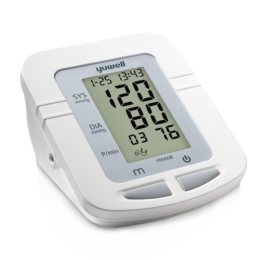 Yuwell 660b digital automático braço superior monitor