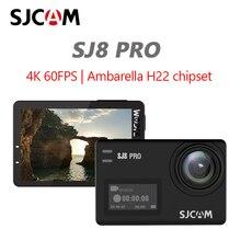 كاميرا الحركة الأصلية SJCAM SJ8 Pro 4K 60FPS WiFi كاميرا الخوذة عن بعد شرائح Ambarella 4K @ 60FPS الترا HD المتطرفة الرياضة DV
