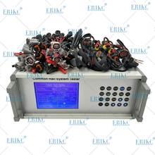 Diesel comum trilho injector bomba testador ferramenta eletromagnética e piezoelétrica injetores máquina de teste para bosch denso delphi