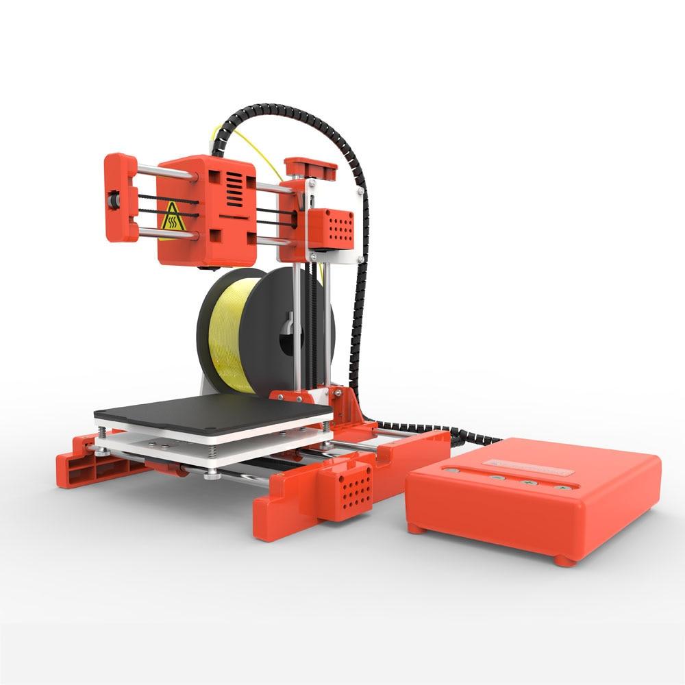 Mini Portable  Kids 3D DIY Printer for Household Education 25
