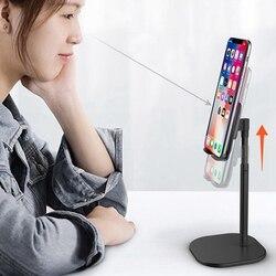 Nowy stacjonarny telefon komórkowy uchwyt wielofunkcyjny na żywo Tablet nocny leniwy uchwyt na telefon komórkowy uchwyty i stojaki ze stopu aluminium