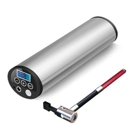 150PSI Mini Electric Inflator 12V Car Bicycle Bike Pump Electric Auto Air Compressor Bicycle Pumps with LCD Display EU PLUG|Bicycle Pumps| |  -