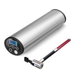 150PSI Mini kompresor 12V samochód rowerowy pompka do rowera elektryczny samochodowy kompresor powietrza pompy rowerowe z wyświetlaczem LCD wtyczka EU|Pompki rowerowe|Sport i rozrywka -